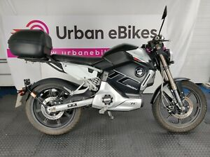 Super Soco TCMAX - 58mph Electric Bike Motorcycle Learner legal 125cc ***SOLD***