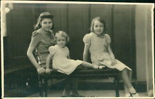 Bristol. Lady & Two Girls 'Longman' Surname  RM.248