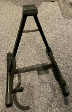 Guitar Stand - Electric / Acoustic Guitar, Free Standing Frame which folds