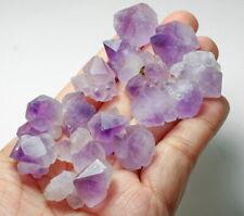 252.6Ct Purple Amethyst Flower Crystal Cluster Facet Rough Specimen YAF13