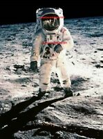 BUZZ ALDRIN PHOTO 8.5X11 Astronaut NASA Space On The Moon Apollo 11 Memorabilia