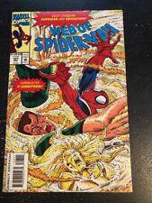 Web Of Spider-Man#107 Incredible Condition 9.4 Sandman/Quicksand App(1993)
