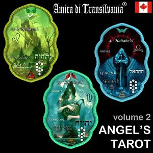 tarot of the angels oracle cards deck esoteric fortune telling dream romance V-2