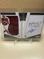 2019 National Treasures Dwayne Haskins Rookie Jersey Auto Booklet #25/125