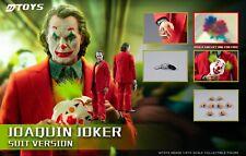 MTOYS 1/6 MS008 Joker Joaquin Phoenix Makeup Head Male Figure Collectible Toys