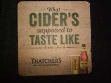 PUB COASTER - Thatchers Cider (England) - NEW