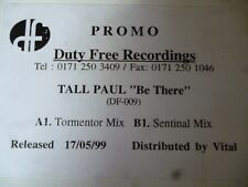 """Tall Paul Be There 12"""" vinyl #1366"""
