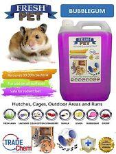 5 L Fresh-Pet Bubblegum-rongeur spécialiste désinfectant lapin clapier cage fonctionne
