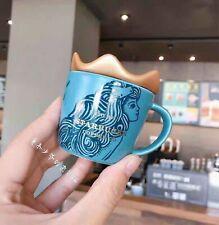 New Starbucks 2019 China Anniversary 3oz Crown Of Siren Mermaid Mug