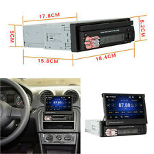 MP5 Player Stereo Bluetooth Radio Automatic Telescopic Screen For Car Universal