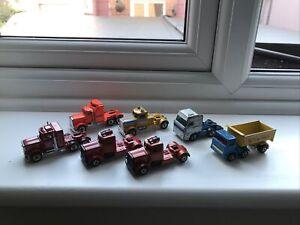 Matchbox Convoy Truck Cabs X 7 L@@K