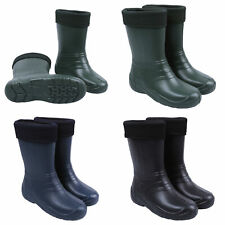 More details for womens ladies insulated winter wellington boots ultralight eva gardening wellies