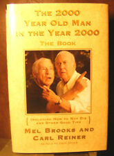 The 2000 Year Old Man in the Year 2000, Mel Brooks & Carl Reiner. HC.DJ. Signed