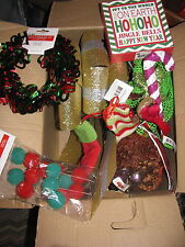 Christmas Grab Bag (box)5, Christmas Decorations, Ornaments, New w/ Tags, $90++