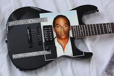 1995 ESP M-II Deluxe Custom Shop OJ Simpson Mugshot Chris Compston Guitar + OHSC