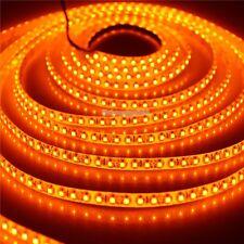 5M 600 LEDs 3528 Orange LED Strip flex ribbon Light lamp Waterproof  NP 12V Xmas