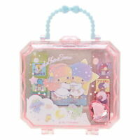 8pcs Stamp Set Little Twin Stars in Cute Case Sanrio Japan Japanese Kawai Goods