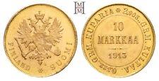 HMM - Finnland Nikolaus II. 10 Markkaa 1913 Fast Stempelglanz - 180307003