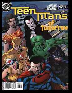 2004 DC (December 2004) Teen Titans Of Tomorrow - First Appearance Of Titans #17