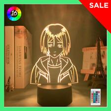 Acrylic Led Night Light Anime Haikyuu Kenma Kozume 3d Lamp Bedroom Decor Gift
