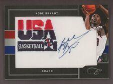 2011 Panini Black Box Elite Kobe Bryant USA Basketball Patch AUTO 16/49