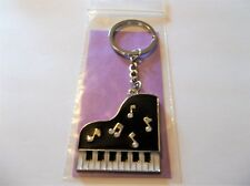 Piano Keyboard Keychain-Band Instrument Keyring Music Players Gift-Free S/H-New