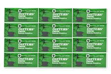 12 BOXES OF Dieters' Drink Bebida Dietetica Natural Leaf Brand Dieters 216 Bags