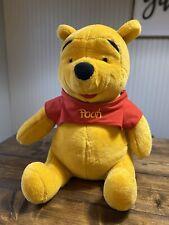 "Winnie the Pooh Bear Plush Large 23"" Stuffed Animal Disney Mattel"