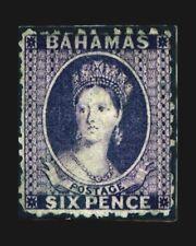 VINTAGE:BAHAMAS 1863 OG,NH,POF SCOTT # 14A $ 325 LOT # VSABAH186A-B3