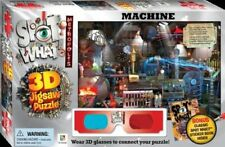 NEW BOX  SPOT WHAT MACHINE  3D JIGSAW PUZZLE with STICKER book 3D  glasses