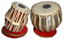 Tabla Steel Bayan,Drum Set,Finest Dayan with Book,Hammer Cushions