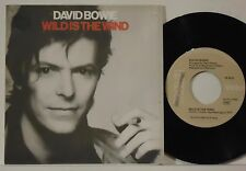 """DAVID BOWIE : WILD IS THE WIND / GOLDEN YEARS    -    1982  ITALY  7"""""""