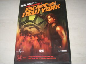 ESCAPE FROM NEW YORK DVD R4 NEW