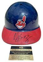 Manny Ramirez Cleveland Indians Signed Sports Prod. Corp. Helmet w/ COA - RARE