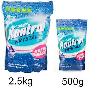 Kontrol Refill Moisture Trap Damp Mould Absorber Krystals Economic Pack Crystals