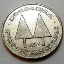 Ficha 1963 COOPERATIVA Empleados DEPARTAMENTO DEL TRABAJO San Juan Puerto Rico