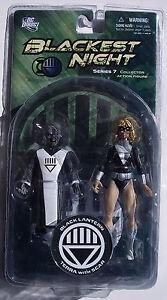 Blackest Night Series 7. BLACK LANTERN TERRA WITH SCAR. Collector Action Figure