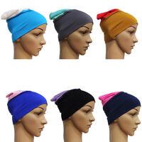 Lady Hijab Under Scarf Head Band Muslim Inner Cover Islamic Cap Women Chemo Cap
