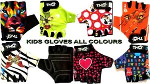 Children Kids glove Girls Boys Cycling Padded Sports Bike Bicycle BMX TNQ sports