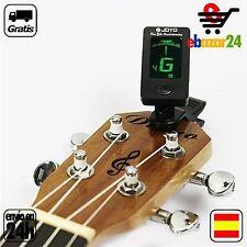 Afinador digital de Guitarra Clip Cuerda Cuerdas Notas afinadas Afinar portatil