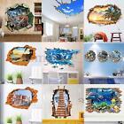 3D Dinosaur Animal Window Removable Wall Sticker Mural Art Decal Room Decor