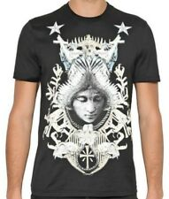 Givenchy 2012 Men's Black Angel Crest Tshirt Size Small