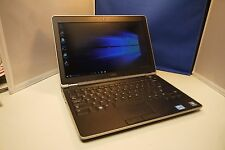 "Dell E6220 12"" Laptop Core i7-2640m 8GB 120GB SSD Windows 10 Backlit Keyboard"