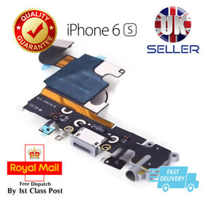 Grey iPhone 6S Charging Port Dock Charger Flex Cable USB Mic Headphone