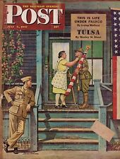1947 Saturday Evening Post July 5 - Tulsa; Motor Courts;Adm Halsey's Story;Botts