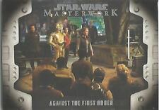 Star Wars Masterwork 2017 - LP-9 Evolution of the Rebel Alliance Chase Card