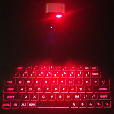 Red Laser Projection Projector Qwerty Mobile Keyboard iOS Android Smart Phone PC