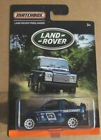 MATCHBOX LAND ROVER FREELANDER 1:59 SCALE OFF ROAD SPORT RALLY 53 BLUE