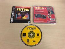 Tetris Plus Complete Playstation PS1 Game CIB Black Label