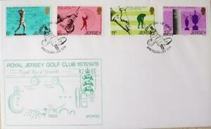 """Jersey Stamps """"Royal Jersey Golf Club-100th Anniversary"""" First Day Cover 1978"""